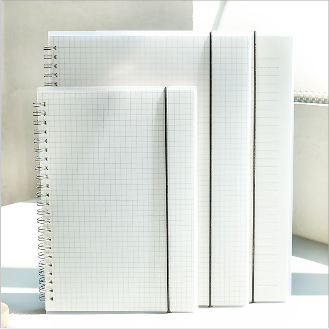 A5 A6 B5 Coil Notebook Planner Escolar Line Grid Lattice Blank Cornell Draft Handbook Free Delivery Stationery School Supplies