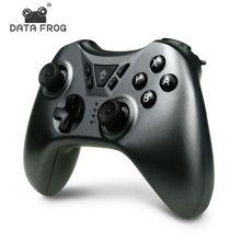 Veri kurbağa oyun denetleyicisi Nintendo anahtarı Bluetooth kablosuz oyun kolu Nintendo anahtarı çift titreşim Gamepad için PC/PS3