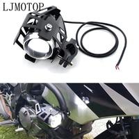 Motorcycle LED headlights U5 12V  Decorative lamp Spotlight For kawasaki NINJA 650R/ER6F/ER6N W800/SE Z750S  ZR750 ZEPHYR ZX-6