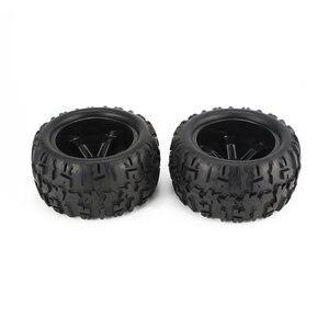 Image 3 - 4Pcs Felge und Reifen 150mm für 1/8 Monster Truck Traxxas HSP HPI E MAXX Savage Flux Racing RC auto Modell Spielzeug