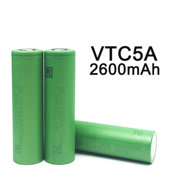 2020 New Original 3.7V 18650 2600mah 30A Original For Sony US18650 VTC5A 3.6V IMR battery for Toy E-cig Torch Flashlight ect image