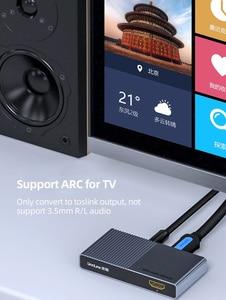 Image 4 - Преобразователь аудио Unnlink HDMI UHD4K @ 30 HIFI 5.1ch SPDIF оптический Toslink RCA UHD4K для Chromecast Fire TV Stick Box Roku