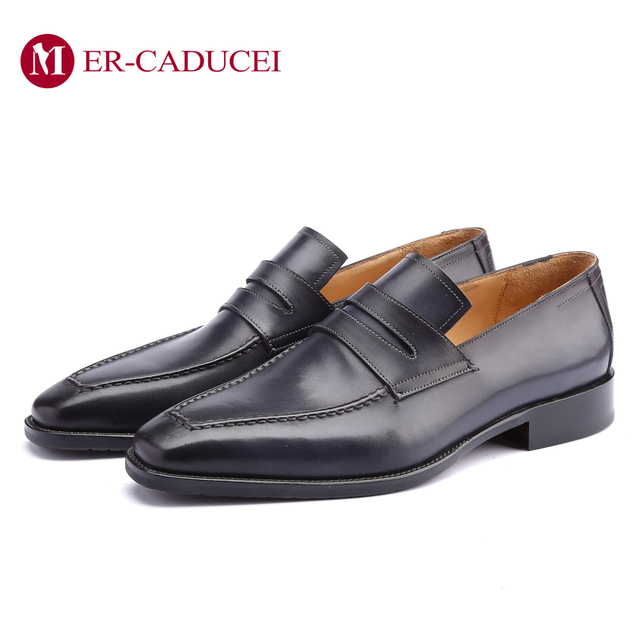 Leather Shoes Men Oxford Real Genuine Leather Custom Fashion Office Dress Wedding Luxury Brand Formal Party Mens Derby Shoe