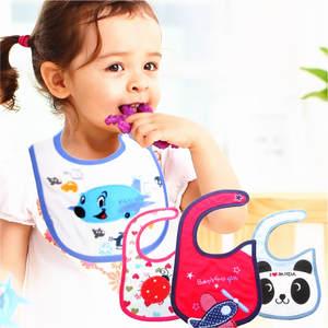 Bibs-Cloths Feeding-Apron Newborn Baby Waterproof Adjustable Ccarf Girl Cotton Cartoon