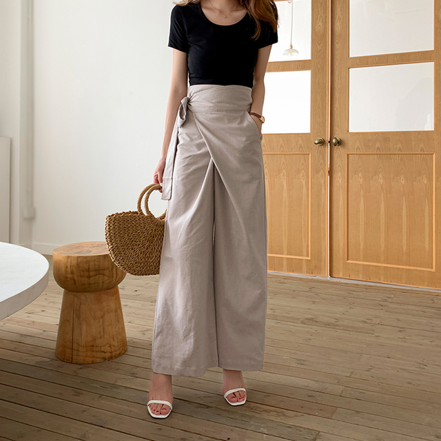 Women's Casual Bell Bottom Pants 3