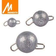 MEREDITH – leurre souple en plomb Cheburashka, accessoires de pêche, tête de gabarit, poids des balles, 2g – 18g