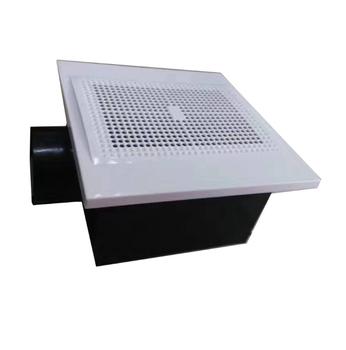 1pc wentylator wyciągowy do kuchni dymu salon poziomy łazienka chłodzenie wentylacja powietrza dyfuzor wentylator wylot wentylacyjny objętość tanie i dobre opinie