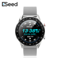 ESEED L7 Bluetooth smart watch ECG+PPG Heart Rate Blood Pressure Monitor smartwatch men for huawei samsung android gt GTR watch