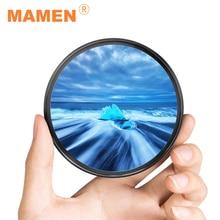 цена на Camera Lens UV Filter Metal Frame 49mm 52mm 55mm 58mm 62mm 67mm 72mm 77mm  Filtros for Canon Nikon Sony Camera Accessories