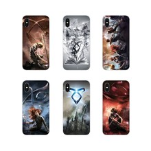 Tpu Siliconen Case Voor Apple Iphone X Xr Xs Max 4 4S 5 5S 5C Se 6 6S 7 8 Plus Ipod Touch 5 6 De Mortal Instruments Stad Van Beenderen(China)