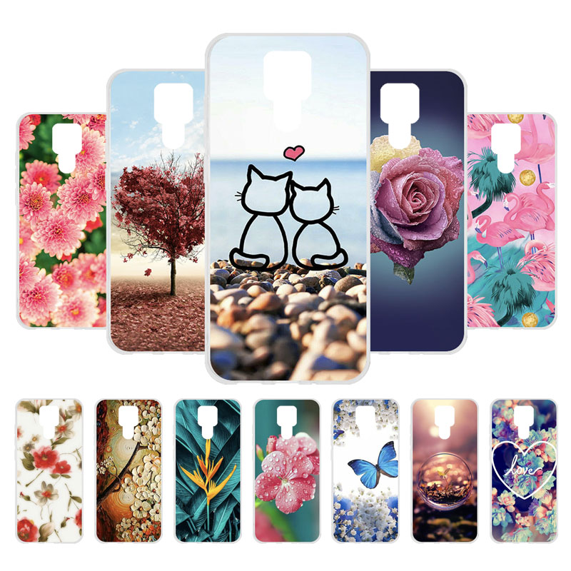 """Soft TPU Phone Case For Ulefone Power 6 Case Cover For Ulefone Power 6 Power6 6.3"""" Coque Fundas Silicone Bumper Shell DIY Cases"""