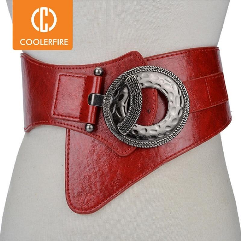 Sıcak moda kadınlar geniş bel elastik esnek kemer kadın girdlestrap kemerler kadınlar için cinturon mujer kemer kayışı LB029