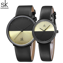 ShengKe Fashion Lovers Watch Men Women Casual Sport Leather