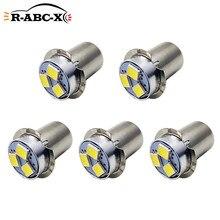 RUIANDSION 5 pièces AC3V P13.5S faible puissance LED ampoule pour 2 cellules torche lampe de poche 2D Maglite remplacement lumière blanche 6000K 150Lm