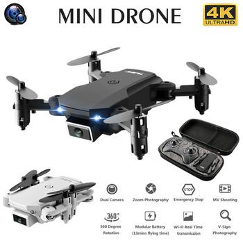 S66 Mini RC Drone 4K kamera HD profesjonalna fotografia lotnicza helikopter grawitacyjny indukcyjny składany Quadcopter tanie i dobre opinie CN (pochodzenie) Z tworzywa sztucznego About 150 meters 8*6 5*3cm Mode1 15days Silnik szczotki 3 7V 4 kanały Oryginalne pudełko