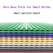 legoing classic base plates small partic building blocks bricks ABS plastic Baseplates Educational toys For Childrens 32*32 Dots
