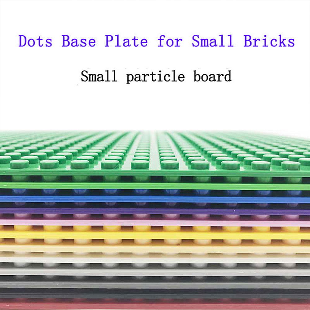 legoing classic base plates small partic building blocks bricks ABS plastic <font><b>Baseplates</b></font> Educational toys For Childrens <font><b>32*32</b></font> Dots image