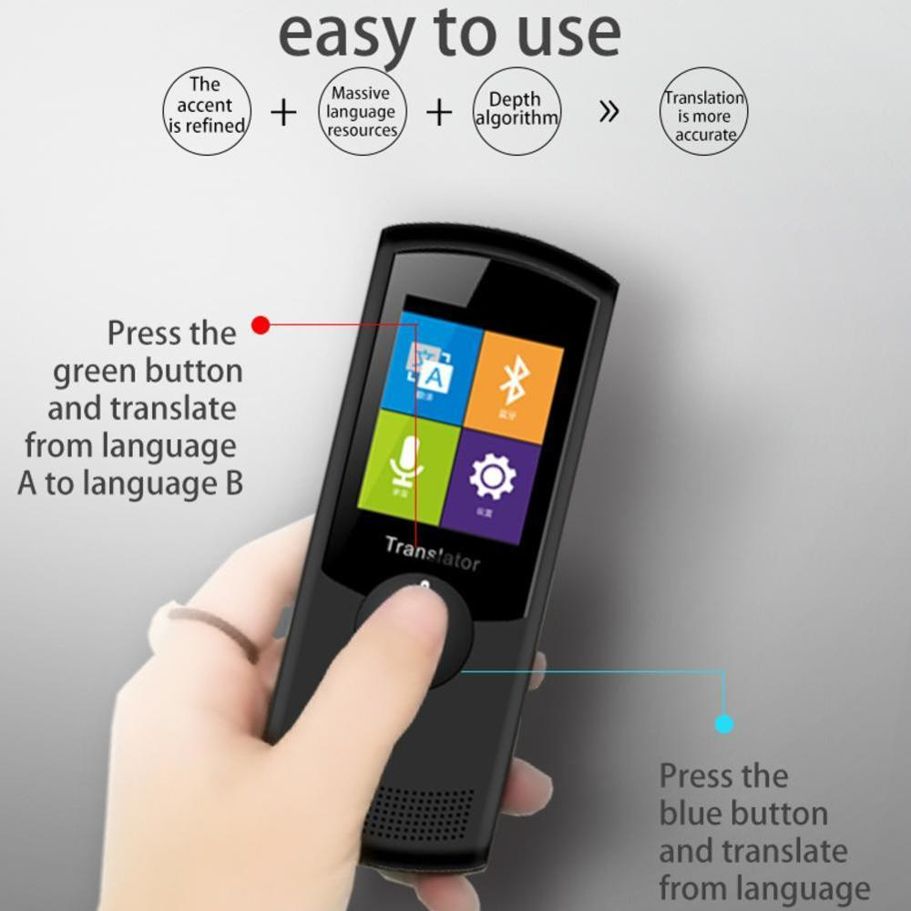 Smart Translation Device For International Travel Multi language Voice Translator Instant|Translator| |  - title=