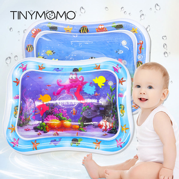 Summer Baby Water Mat Inflatable Patted Pad Cushion Infant Toddler Water Play Mat for Children Education Developing Baby Toys
