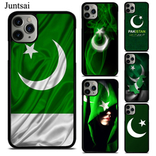 Juntsai Pakistan Flag Banner TPU Phone Case For iPhone X XS Max XR 7 8 6 6S Plus 5 11 Pro Max Cover Coque