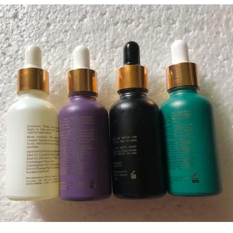 High Quality 24k Rose Gold Elixir Volcanic Elixir Essence Radiating Moisturizer-BNIB-30ml Face Care Essential Oil