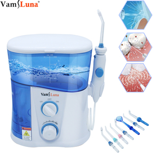 Image 1 - Electric Water Flosser Water Flossing Dental Oral Irrigator for Teeth Cleaning Professional Floss 1000L with 7 Tips