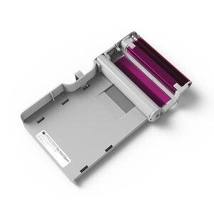 Image 4 - KODAK Juego de cartuchos de papel todo en uno C210, tecnología de impresión apalancamiento 4Pass 20 40 50 100, tinta para paquete de impresora fotográfica