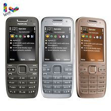 Original Unlocked Nokia E52 GSM Smartphones WIFI Bluetooth GPS 3.2MP Support Russian&Arabic Keyboard