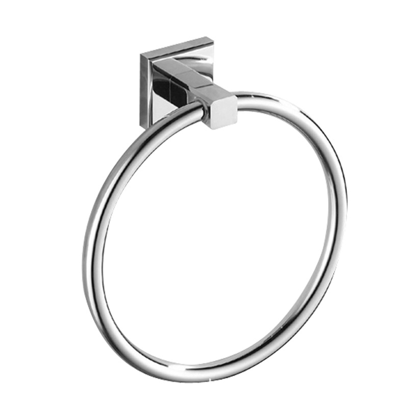 Laiborun Base Copper Pendant   Bathroom Hanger Square Towel Ring Stainless Steel Towel Rings Hotel   - title=