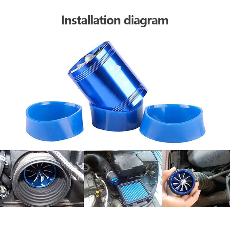 Doppelseitige Turbolader F1-z Automobil Intake Turbo Fahrzeug Motor Turbolader Power Conversion Zubehör Dropshipping