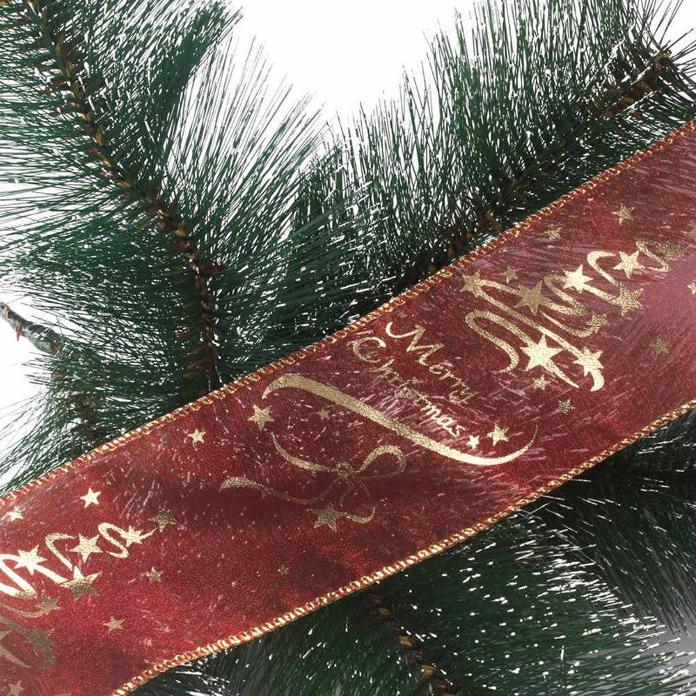חג המולד מסיבת חג המולד עץ קישוטי 2m טינסל תליית קישוטי תליית מתנת סרט חג המולד עץ תליית קישוט DIY