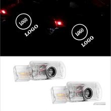 Luces LED para puerta de coche y lámpara de bienvenida con proyección de University de sombra fantasma para Mercedes Benz W251 Clas