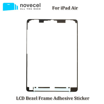 10Pcs Front LCD Touch Screen Panel Frame Faceplate Adhesive Sticker For iPad 5 Air A1474 A1475 A1476(4G/WIFI Version) Tape Glue image