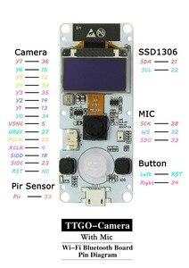 Image 5 - LILYGO®TTGO T Camera ESP32 WROVER & PSRAM Module Camera ESP32 WROVER B OV2640 Module Camera 0.96 OLED