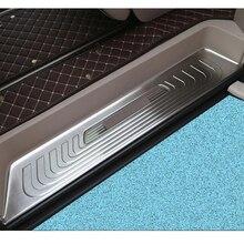 Per Mercedes BENZ V Classe Metris Viano Metris W447 2015 2019 Auto Porta Sleeper usura Passo di Protezione copertura Trim In Acciaio Inox