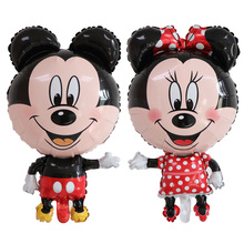 Disney Mickey Minnie Mouse Foil Balloons Happy Birthday Party Decoration Cute Cartoon Character Children Like Gifts Toys