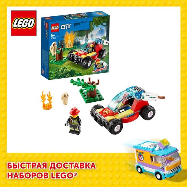 Конструктор LEGO City Fire Лесные пожарные 1