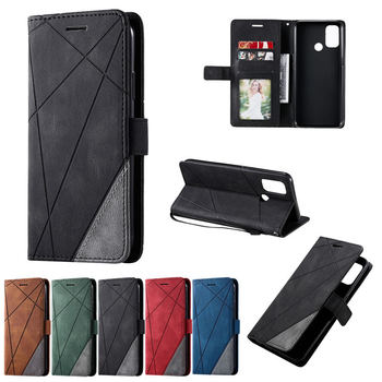 For OPPO A53S Shockproof Case Business Card Slot Wallet Coque for Oppo A53 A 53 2020 Magnetic Flip Etui Oppo A32 Stand Cover