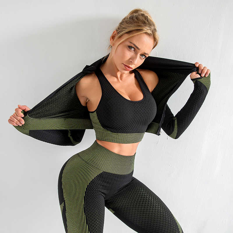 Seamless Women Yoga Sets Female Sport Gym Suits Wear Running Clothes Women Fitness Sport Yoga Suit Long Sleeve Yoga Clothing Aliexpress