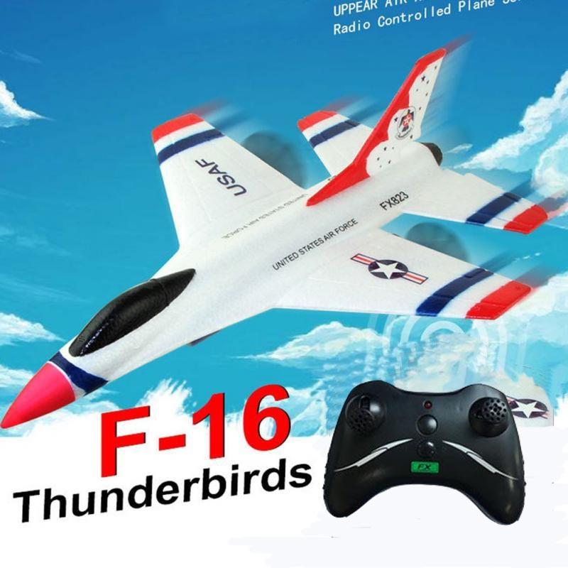 Радиоуправляемый планер, тропический планер, 2,4G, 2CH, F16, птицы грома, летательный аппарат с неподвижным крылом и пультом дистанционного управ...