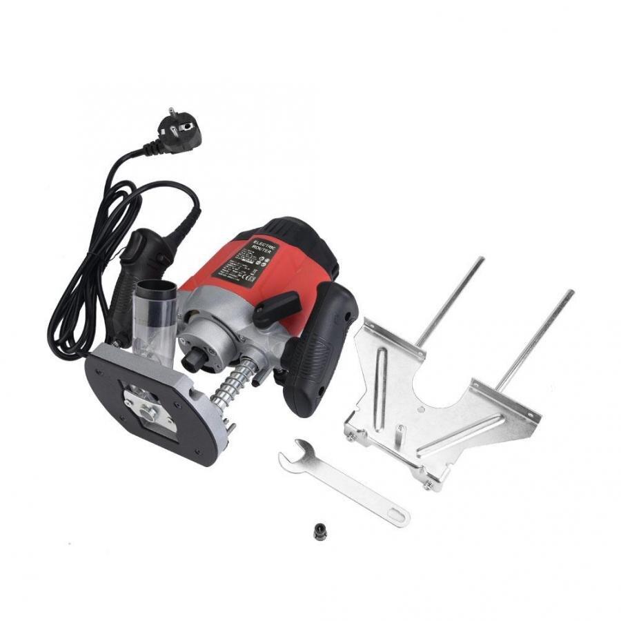 Machine électrique de gravure de coupeur de routeur de plongée de vitesse Variable de 1200W prise de l'ue Machine de routage en bois électrique de 220V