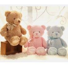 35Cm Creatieve Kleurrijke Teddy Bear Knuffel Knuffel Sturen Vrienden En Liefhebbers Kerstcadeau Voor Kid