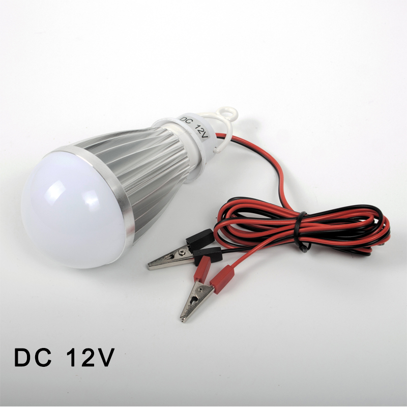LED Lamp DC 12V Portable Led Bulb 3W 6W 9W 12W 15W 18W SMD2835 cold/warm white Outdoor Camp Tent Night Fishing Hanging Light