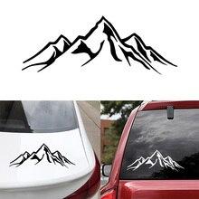 Автомобильные наклейки s горы наклейки и наклейки капот багажника боковое окно наклейка автомобильные аксессуары украшения