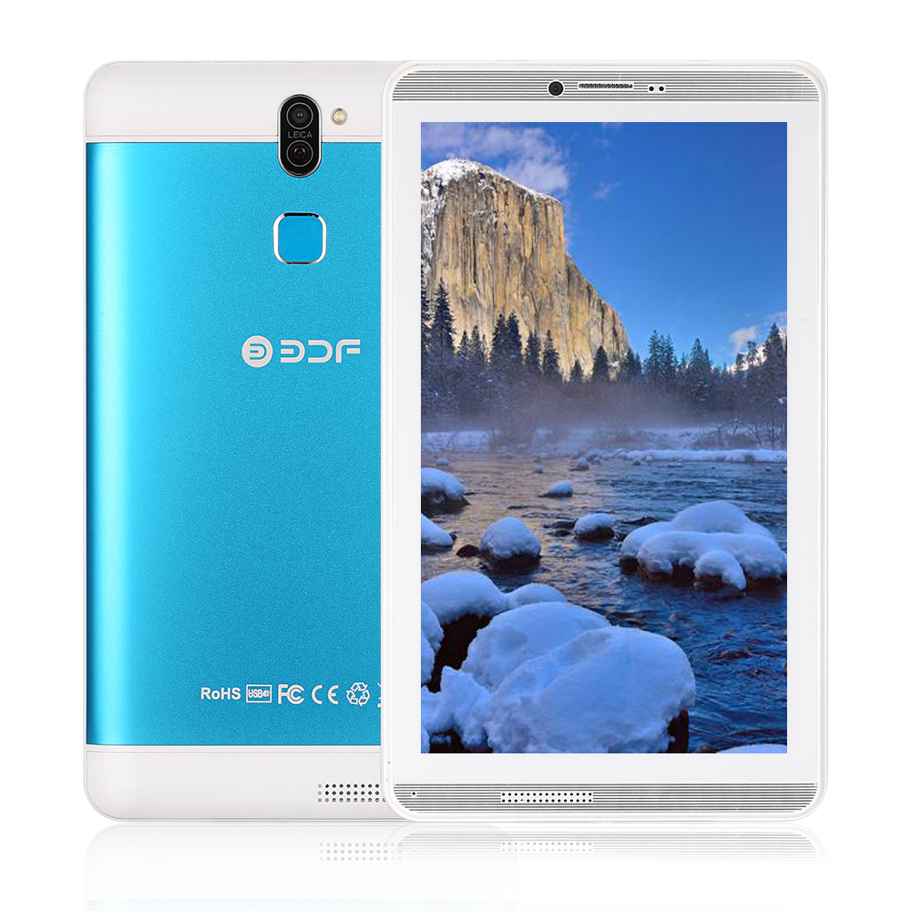 2019 New 7 Inch 3G Tablet Pc Android 6.0 Quad Core 1GB+16GB Bluetooth WiFi Google Play Tablets Dual Camera SIM TF Card