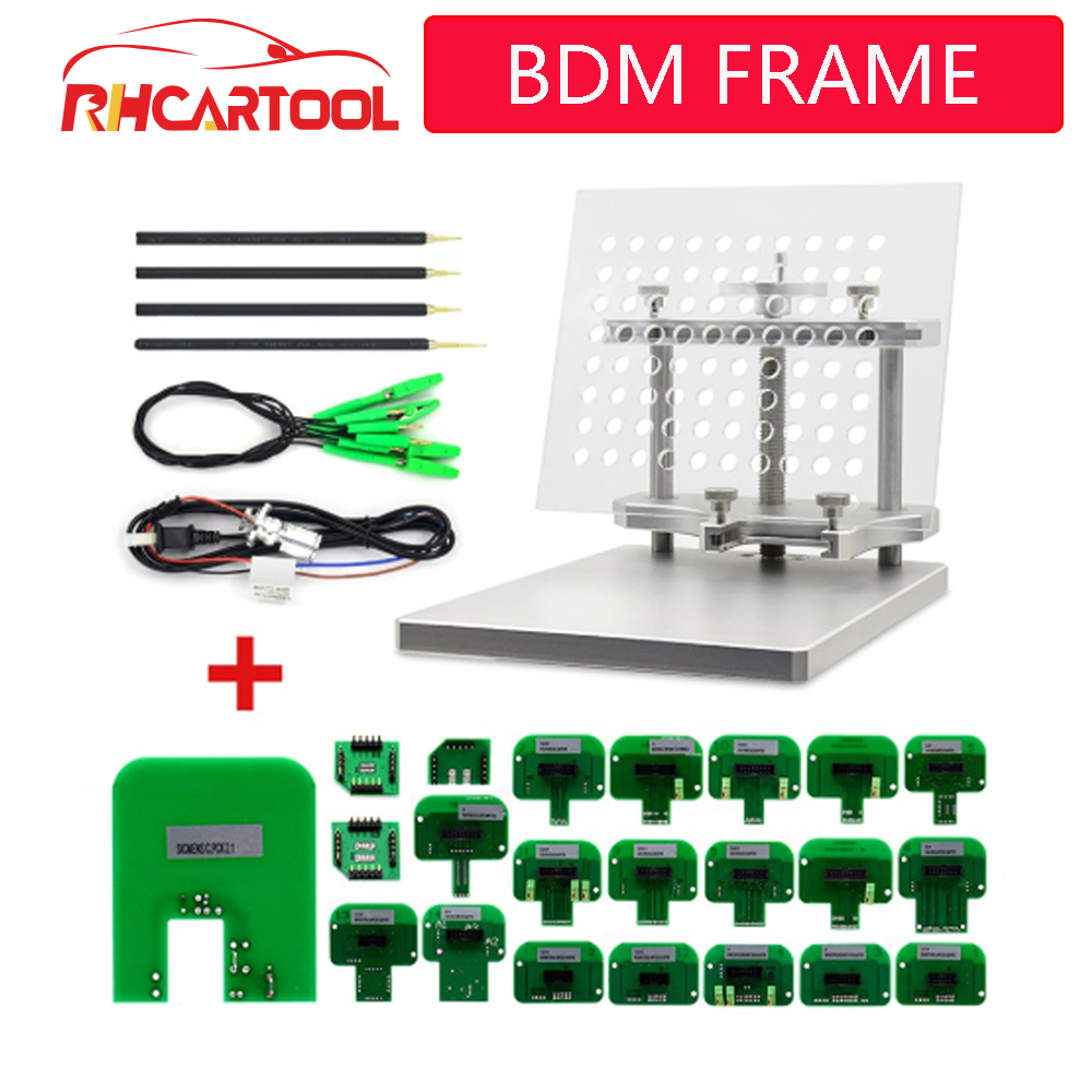OBD2 Diagnostic Tool 22pcs BDM Probe Adapters ECU RAMP For KESS KTAG BDM100 / CMD100 / FGTECH V54 BDM Frame ECU Programmer