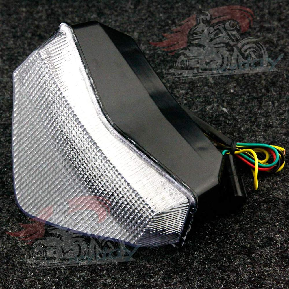Motorcycle LED Taillight Integrated Turn Signals For TRIUMPH Tiger 1050 2007-2012 Sprint ST 1050 2005-2010 Speed Triple 1050 2005-2007