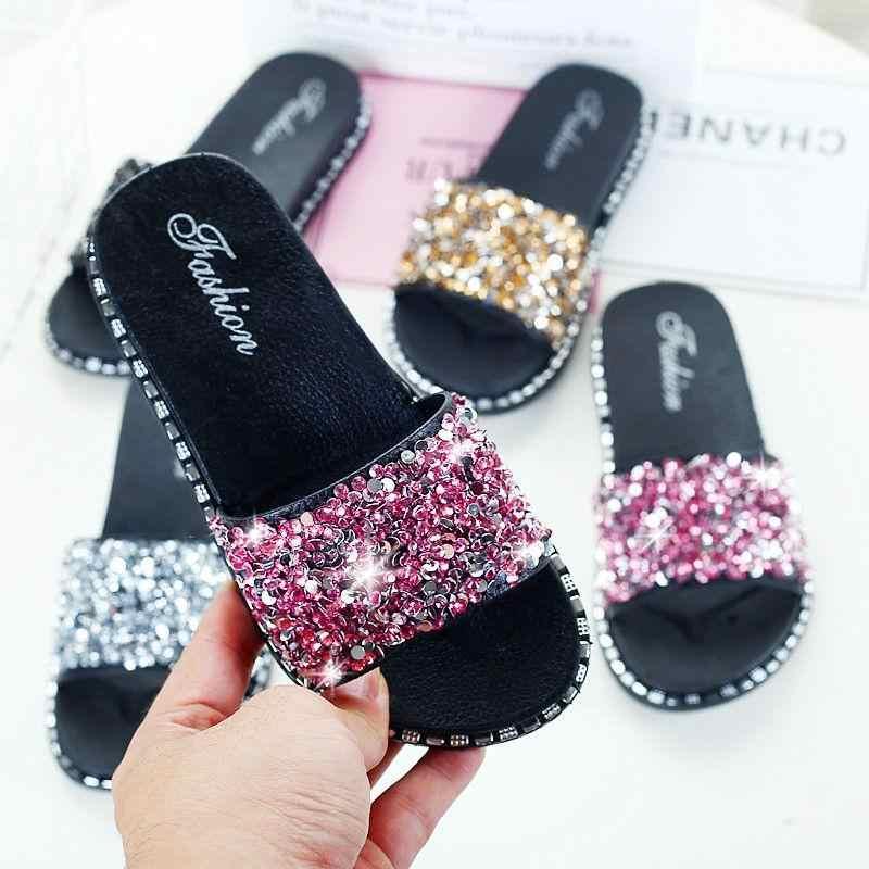 Girls slippers summer children shoes