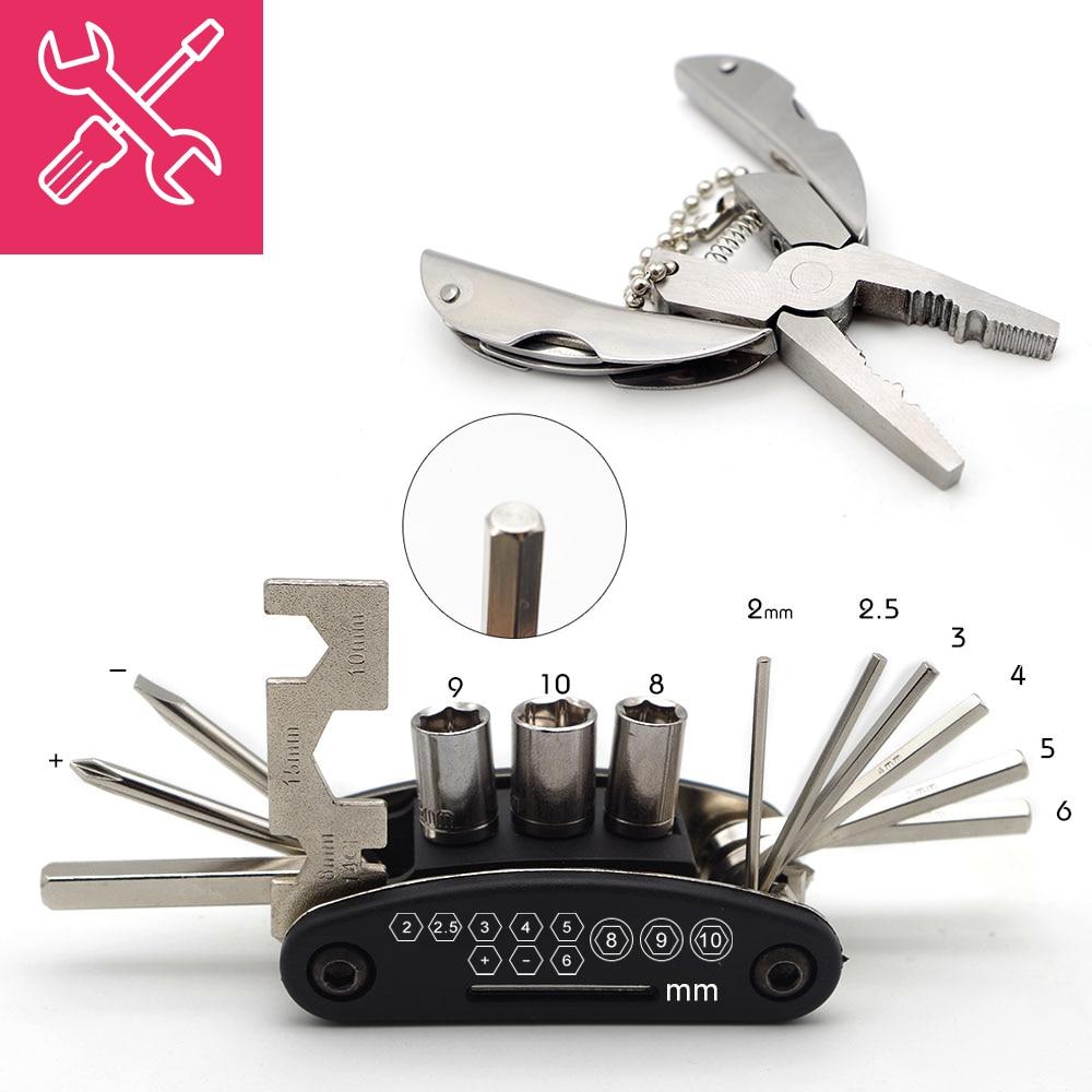 Narzędzia do kluczy motocyklowych wielofunkcyjne do honda cbr 600rr shadow aero 750 xr 600 sh 125i cb190r vfr 1200 akcesoria do motocykli