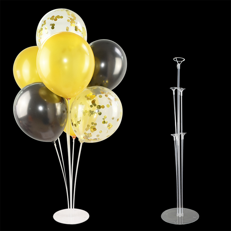 1PC <font><b>7</b></font> <font><b>Tubes</b></font> <font><b>Balloons</b></font> <font><b>Stand</b></font> For <font><b>Balloons</b></font> <font><b>Holder</b></font> For Balls 100 Dots Glue Dots <font><b>Balloons</b></font> Support Balons Wedding Party Xmas New Year image